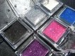 Eyeshadow with Glitter Effect