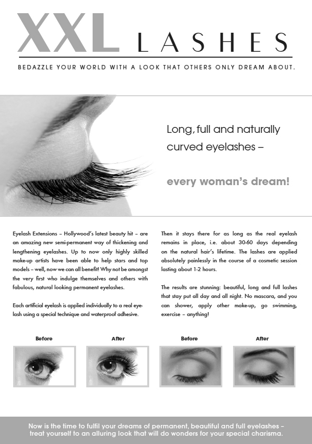 "100 pcs. Promotion Flyer A5 - ""eye"""